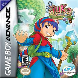 Box cover for Juka and the Monophonic Menace on the Nintendo Game Boy Advance.