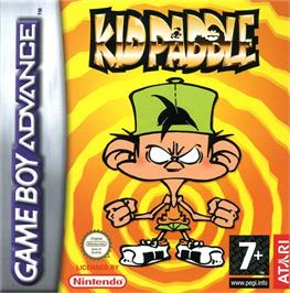 Box cover for Kid Paddle on the Nintendo Game Boy Advance.