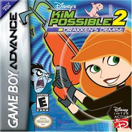 Box cover for Kim Possible 2: Drakken's Demise on the Nintendo Game Boy Advance.