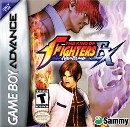 Box cover for King of Fighters EX: Neo Blood on the Nintendo Game Boy Advance.
