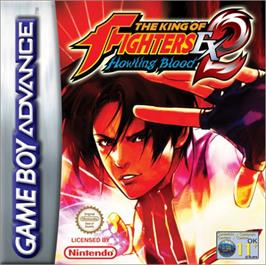 Box cover for King of Fighters EX2: Howling Blood on the Nintendo Game Boy Advance.