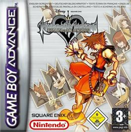 Box cover for Kingdom Hearts: Chain of Memories on the Nintendo Game Boy Advance.
