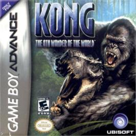 Box cover for Kong: The 8th Wonder of the World on the Nintendo Game Boy Advance.