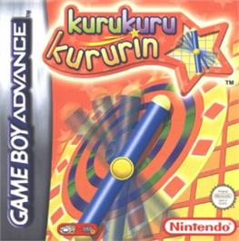 Box cover for Kuru Kuru Kururin on the Nintendo Game Boy Advance.