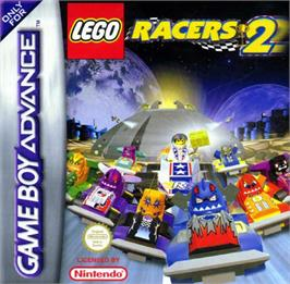 Box cover for LEGO Racers 2 on the Nintendo Game Boy Advance.