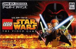 Box cover for LEGO Star Wars 2: The Original Trilogy on the Nintendo Game Boy Advance.