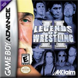 Box cover for Legends of Wrestling 2 on the Nintendo Game Boy Advance.