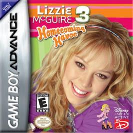 Box cover for Lizzie McGuire 3: Homecoming Havoc on the Nintendo Game Boy Advance.