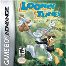 Box cover for Looney Tunes Back in Action on the Nintendo Game Boy Advance.