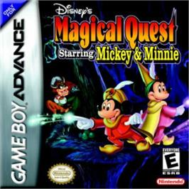 Box cover for Magical Quest Starring Mickey & Minnie on the Nintendo Game Boy Advance.