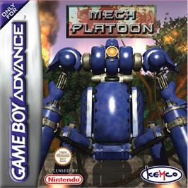 Box cover for Mech Platoon on the Nintendo Game Boy Advance.