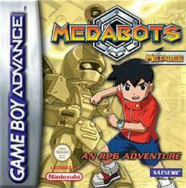 Box cover for MedaBots: Metabee Version on the Nintendo Game Boy Advance.