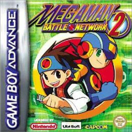 Box cover for Mega Man Battle Network 2 on the Nintendo Game Boy Advance.