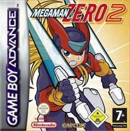 Box cover for Mega Man Zero 2 on the Nintendo Game Boy Advance.
