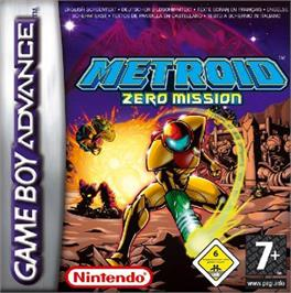 Box cover for Metroid: Zero Mission on the Nintendo Game Boy Advance.