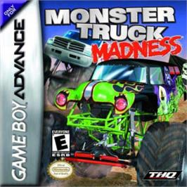 Box cover for Monster Truck Madness on the Nintendo Game Boy Advance.