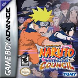 Box cover for Naruto: Ninja Council on the Nintendo Game Boy Advance.
