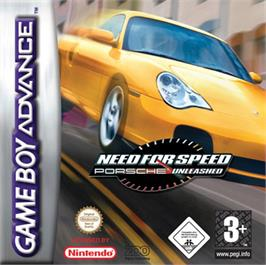 Box cover for Need for Speed: Porsche Unleashed on the Nintendo Game Boy Advance.