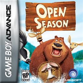 Box cover for Open Season on the Nintendo Game Boy Advance.