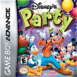 Box cover for Party on the Nintendo Game Boy Advance.