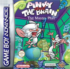 Box cover for Pinky and the Brain: The Master Plan on the Nintendo Game Boy Advance.