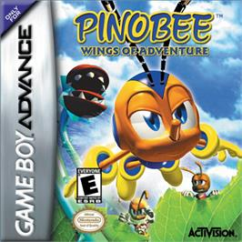 Box cover for Pinobee: Wings of Adventure on the Nintendo Game Boy Advance.