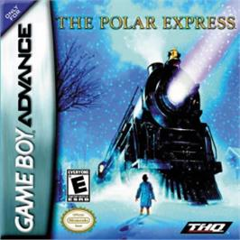 Box cover for Polar Express on the Nintendo Game Boy Advance.