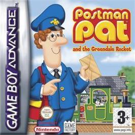 Box cover for Postman Pat and the Greendale Rocket on the Nintendo Game Boy Advance.