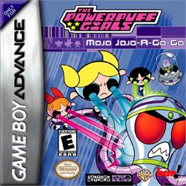 Box cover for Powerpuff Girls: Mojo Jojo A-Go-Go on the Nintendo Game Boy Advance.