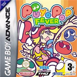 Box cover for Puyo Pop Fever on the Nintendo Game Boy Advance.