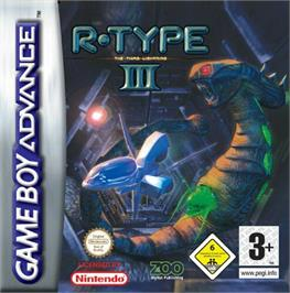 Box cover for R-Type III: The Third Lightning on the Nintendo Game Boy Advance.