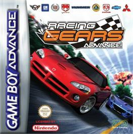 Box cover for Racing Gears Advance on the Nintendo Game Boy Advance.