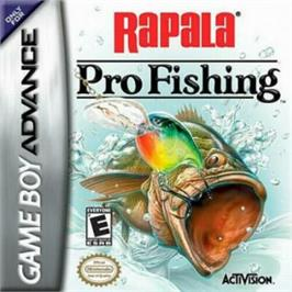 Box cover for Rapala Pro Fishing on the Nintendo Game Boy Advance.