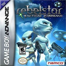 Box cover for Rebelstar: Tactical Command on the Nintendo Game Boy Advance.