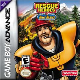 Box cover for Rescue Heroes: Billy Blazes on the Nintendo Game Boy Advance.
