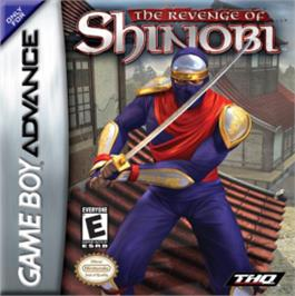 Box cover for Revenge of Shinobi, The on the Nintendo Game Boy Advance.