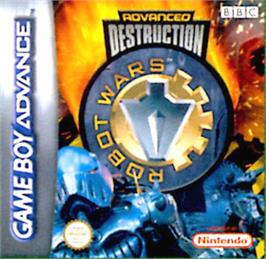 Box cover for Robot Wars: Advanced Destruction on the Nintendo Game Boy Advance.