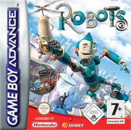 Box cover for Robots on the Nintendo Game Boy Advance.