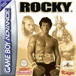 Box cover for Rocky on the Nintendo Game Boy Advance.