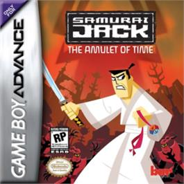 Box cover for Samurai Jack: The Amulet of Time on the Nintendo Game Boy Advance.