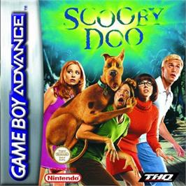 Box cover for Scooby Doo: The Motion Picture on the Nintendo Game Boy Advance.