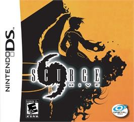 Box cover for Scurge: Hive on the Nintendo Game Boy Advance.