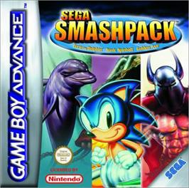 Box cover for Sega Smash Pack on the Nintendo Game Boy Advance.