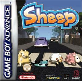 Box cover for Sheep on the Nintendo Game Boy Advance.
