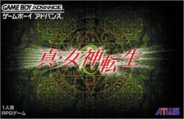 Box cover for Shin Megami Tensei: Devil Children - Puzzle de Call on the Nintendo Game Boy Advance.
