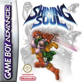 Box cover for Shining Soul on the Nintendo Game Boy Advance.