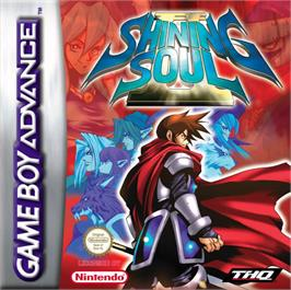 Box cover for Shining Soul 2 on the Nintendo Game Boy Advance.