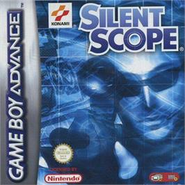Box cover for Silent Scope on the Nintendo Game Boy Advance.