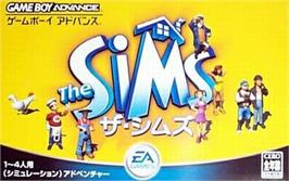 Box cover for Sims on the Nintendo Game Boy Advance.