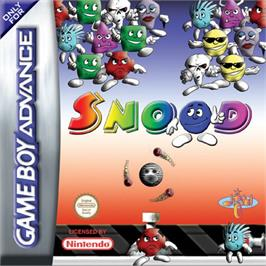 Box cover for Snood on the Nintendo Game Boy Advance.